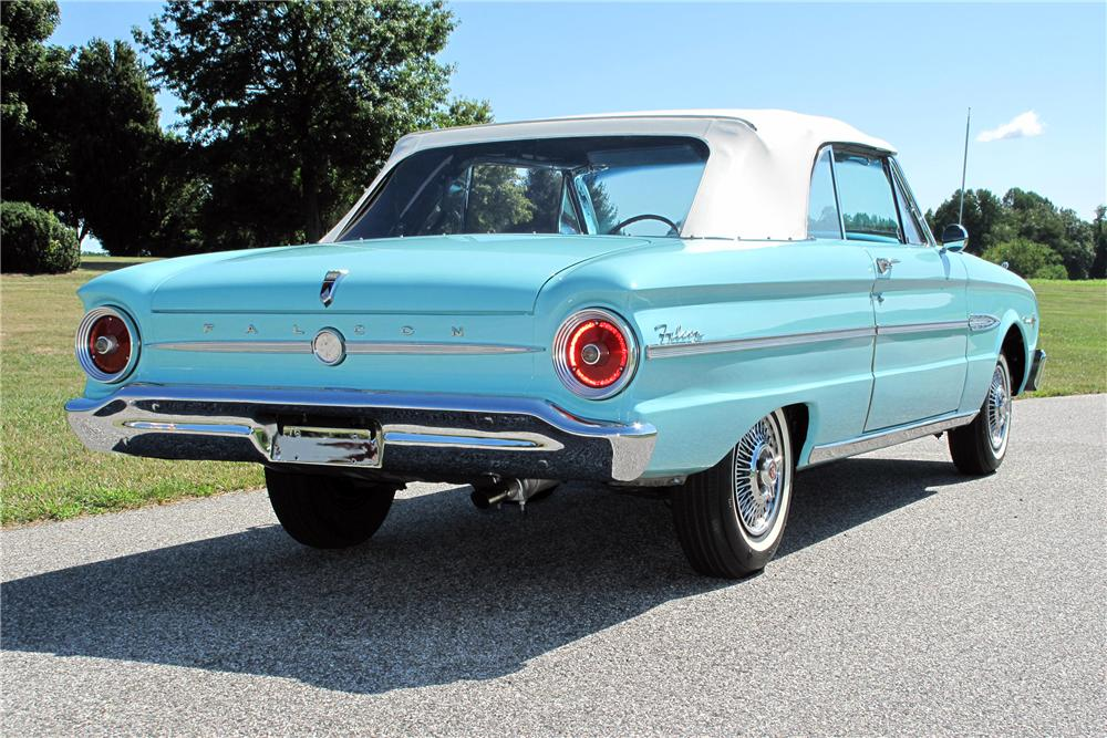 1963 FORD FALCON CONVERTIBLE 116425