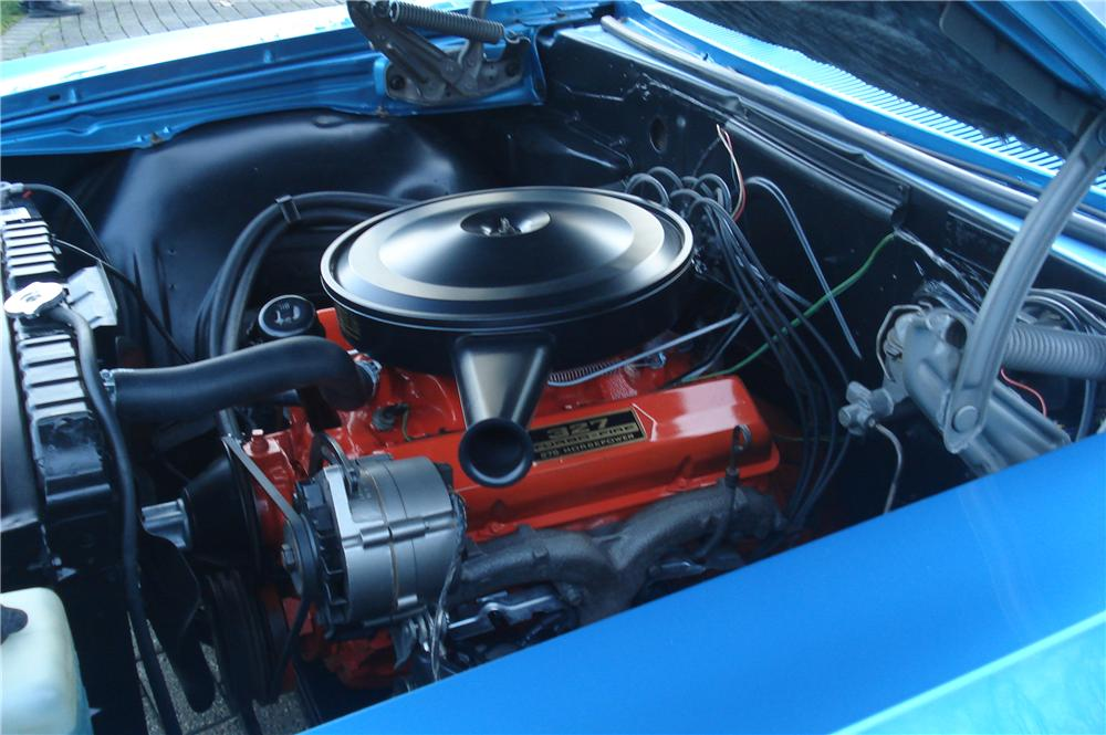 1966 CHEVROLET IMPALA SS 2 DOOR COUPE - Engine - 116436