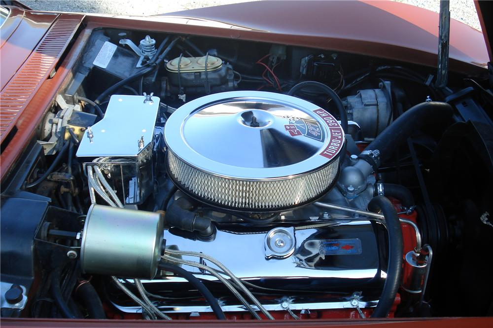 1968 CHEVROLET CORVETTE CONVERTIBLE - Engine - 116438