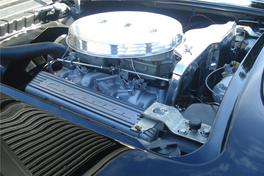 1958 CHEVROLET CORVETTE CONVERTIBLE - Engine - 116439