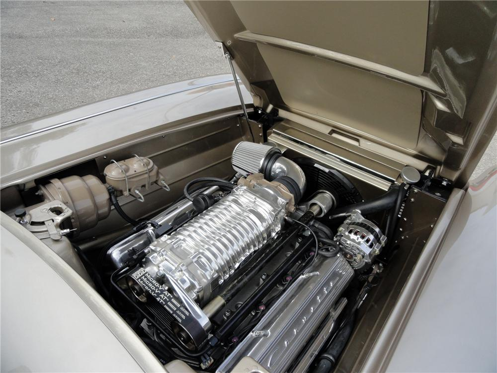 1962 CHEVROLET CORVETTE CUSTOM CONVERTIBLE - Engine - 116441