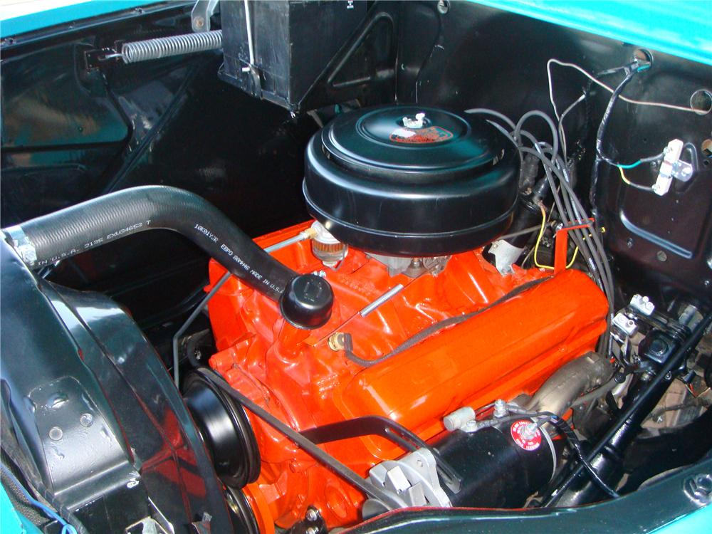 1958 CHEVROLET CAMEO PICKUP - Engine - 116444