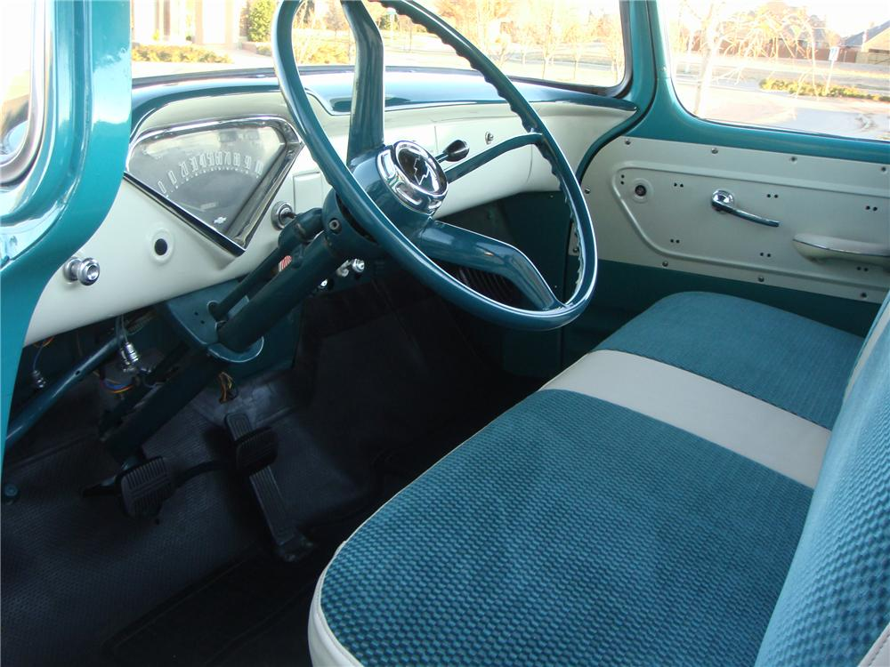 1958 CHEVROLET CAMEO PICKUP - Interior - 116444