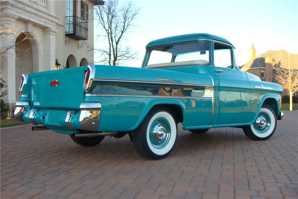 1958 CHEVROLET CAMEO PICKUP - Rear 3/4 - 116444