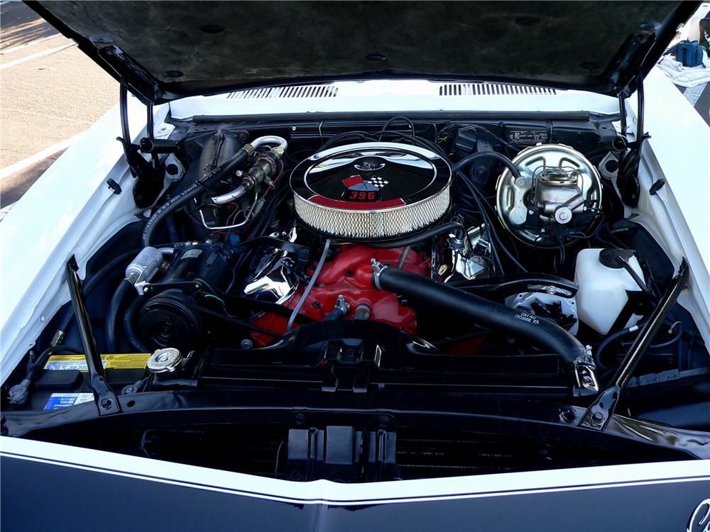 1968 CHEVROLET CAMARO RS/SS COUPE - Engine - 116450