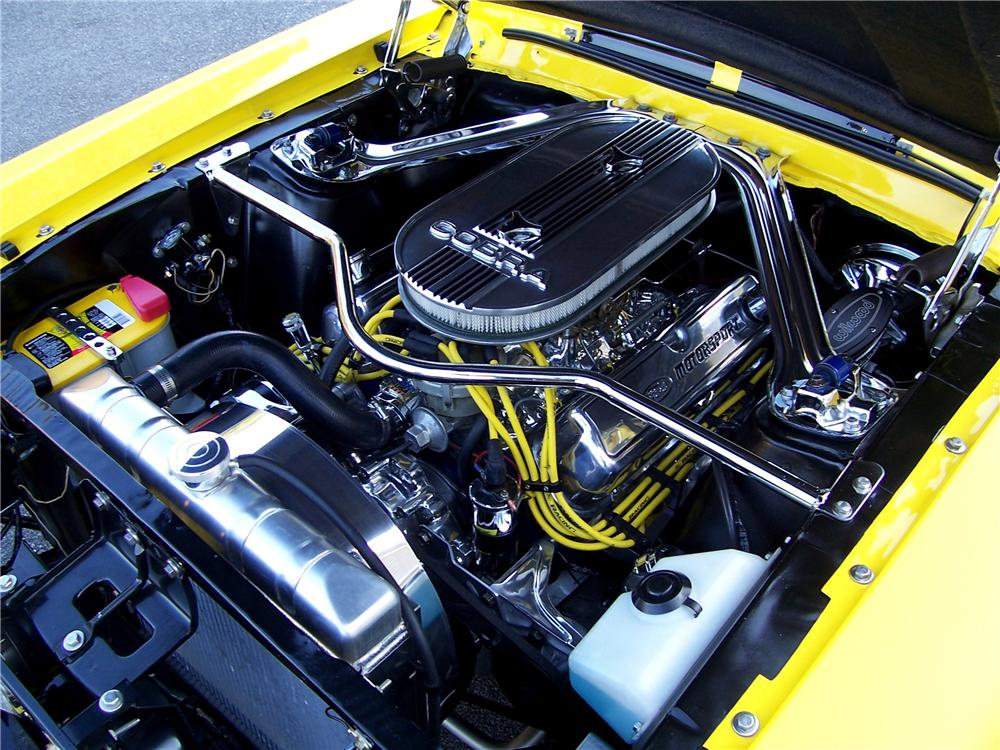 1967 FORD MUSTANG CUSTOM FASTBACK - Engine - 116452