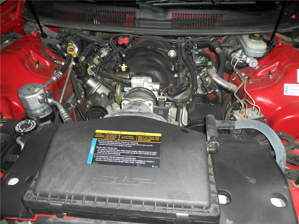2002 CHEVROLET CAMARO SS 2 DOOR COUPE - Engine - 116459