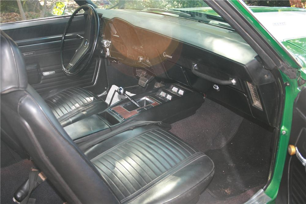 1969 CHEVROLET CAMARO Z/28 2 DOOR COUPE - Interior - 116462