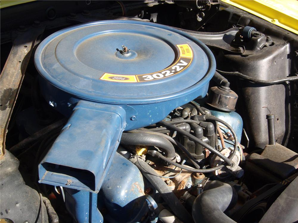 1970 FORD MUSTANG CONVERTIBLE - Engine - 116470