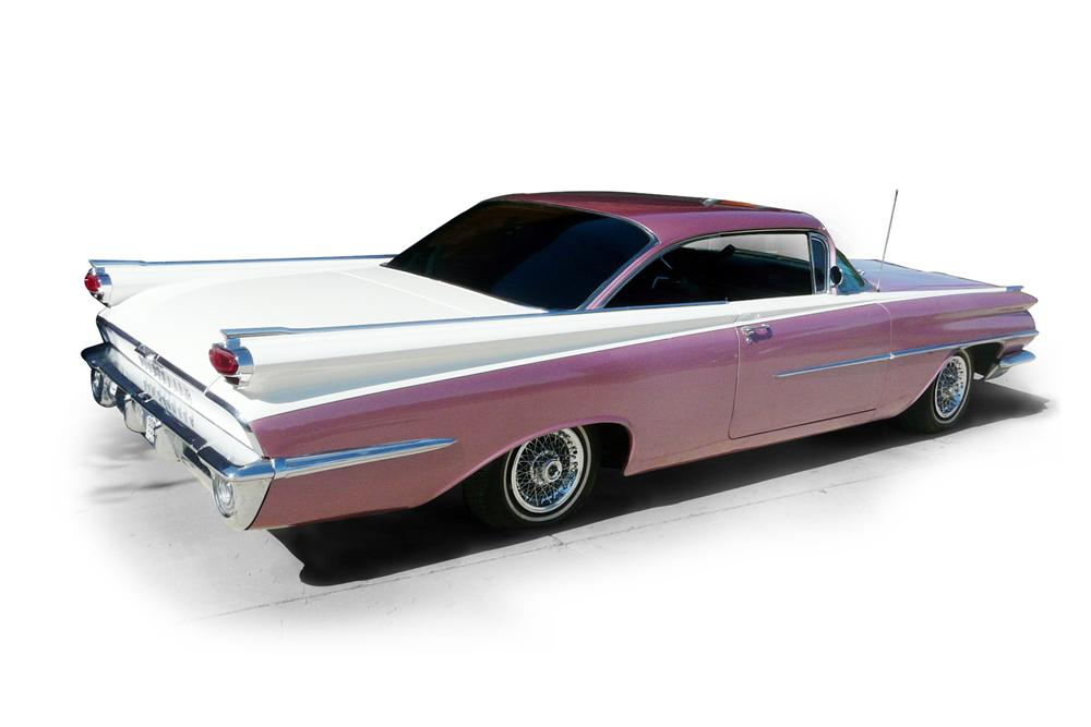 1959 OLDSMOBILE DYNAMIC 88 2 DOOR HARDTOP - Rear 3/4 - 116477