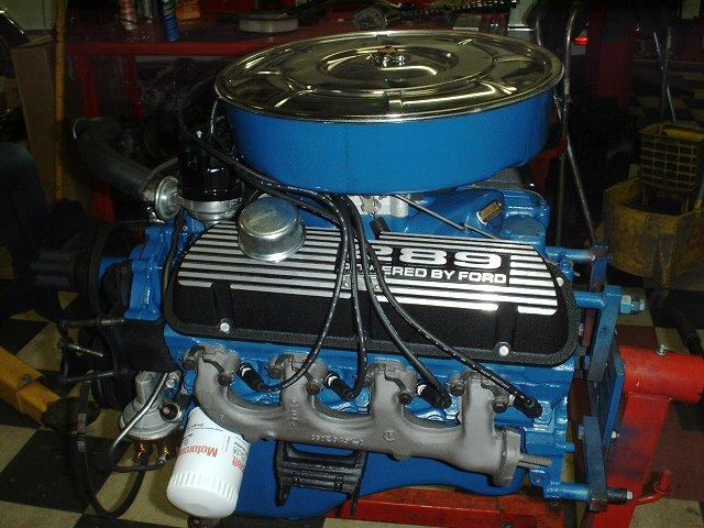 1965 FORD MUSTANG CONVERTIBLE - Engine - 116483