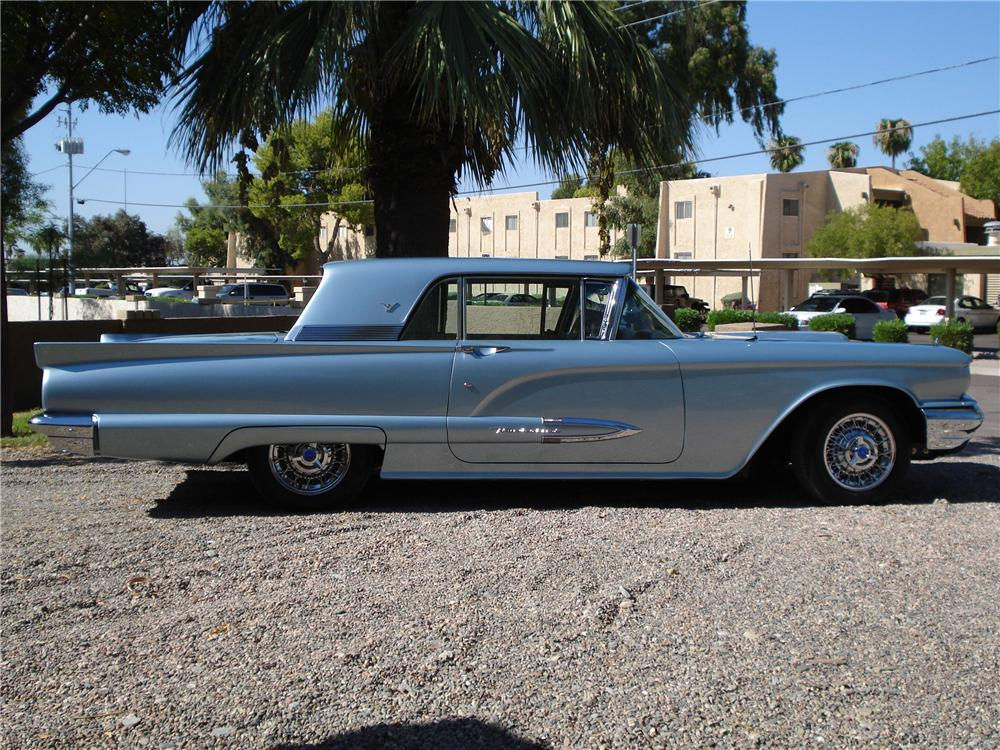 1959 FORD THUNDERBIRD 2 DOOR HARDTOP - Side Profile - 116484