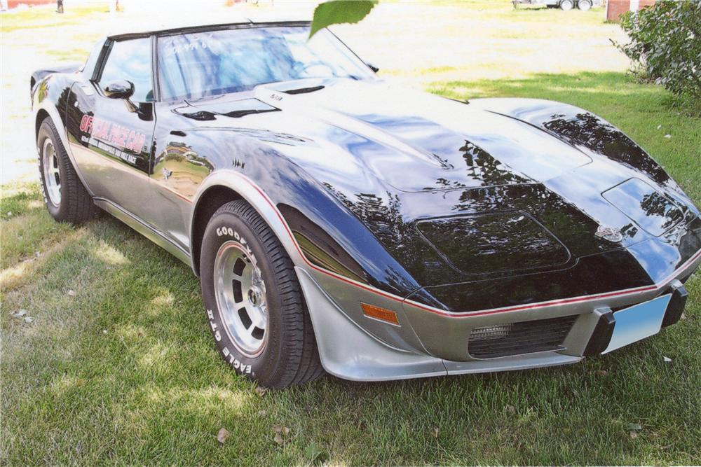 1978 CHEVROLET CORVETTE PACE CAR COUPE - Front 3/4 - 116486