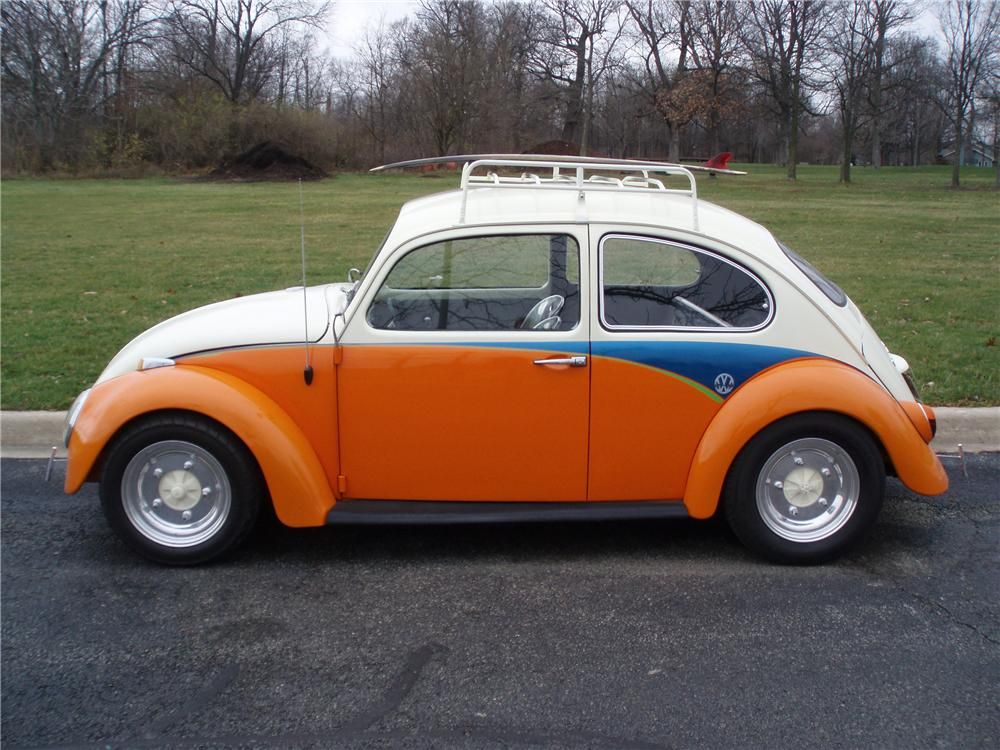 1966 VOLKSWAGEN BEETLE CUSTOM COUPE - Side Profile - 116488