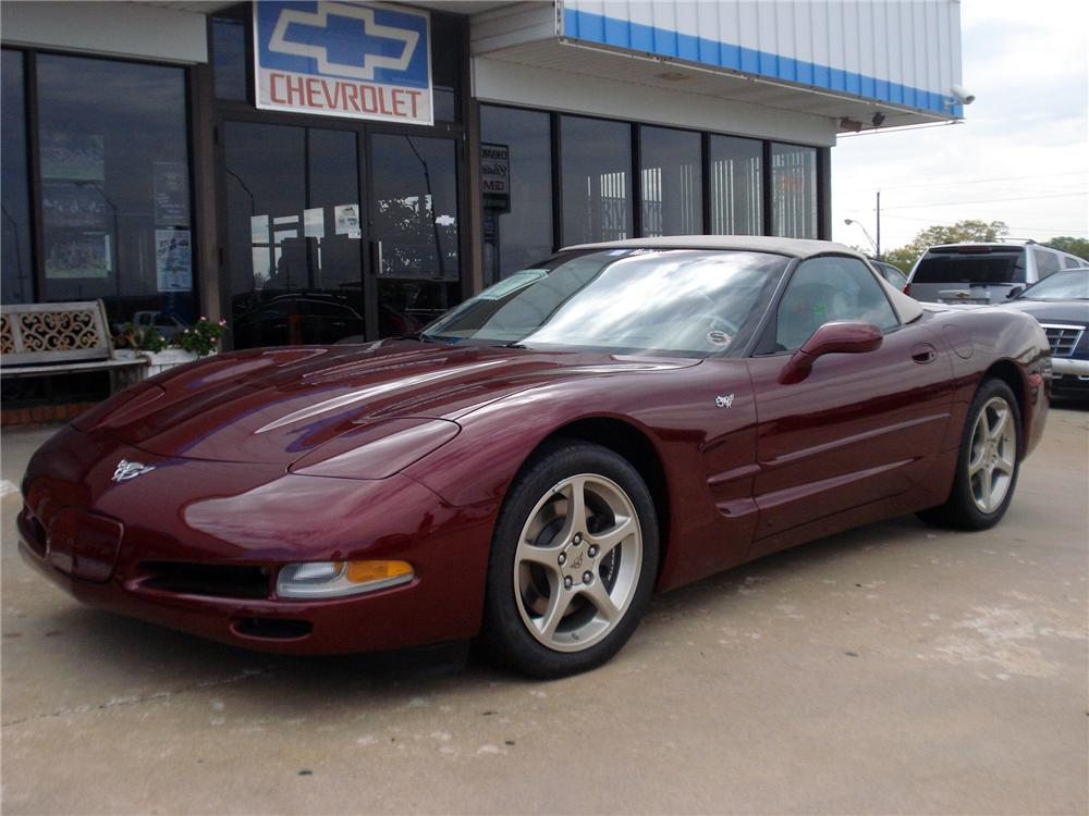 2003 CHEVROLET CORVETTE CONVERTIBLE - Side Profile - 116490