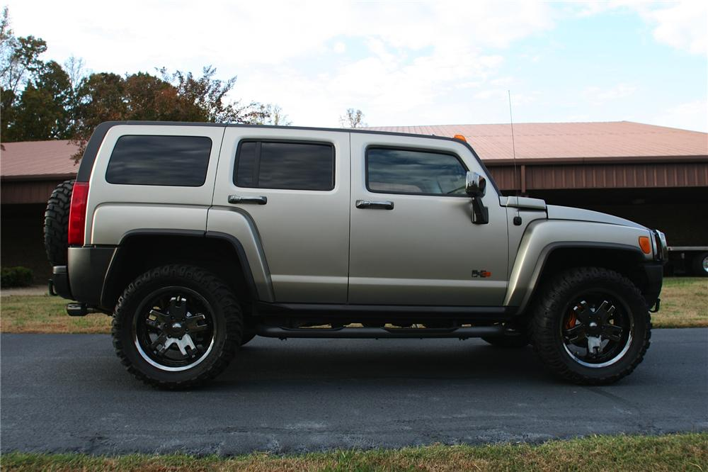 2006 HUMMER H3 CUSTOM SHOW CAR - Side Profile - 116494