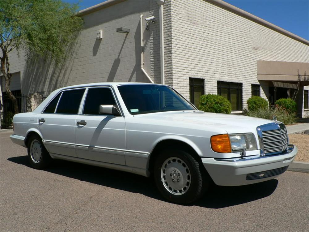 1990 mercedes benz 420sel sedan 116500 for 1991 mercedes benz 420sel