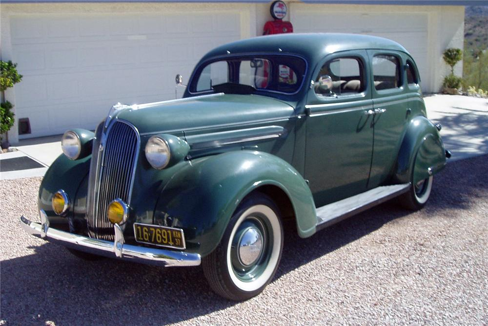 1937 Plymouth Special Deluxe Sedan 116502