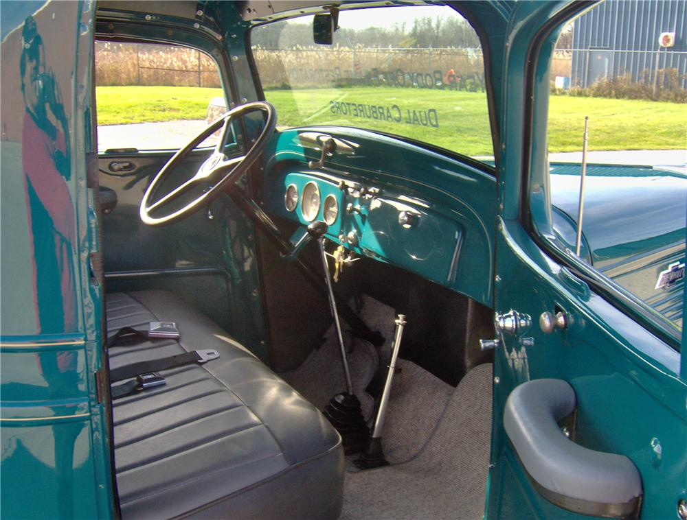 1937 CHEVROLET CUSTOM PICKUP - 116505