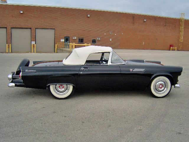 1955 FORD THUNDERBIRD CONVERTIBLE - Side Profile - 116507