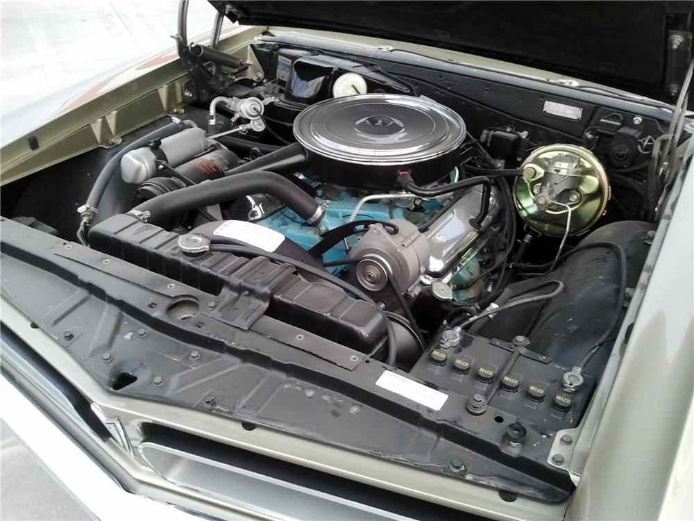 1965 PONTIAC GTO CONVERTIBLE - Engine - 116508