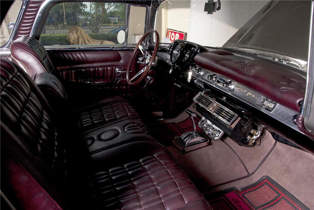 1957 CHEVROLET NOMAD CUSTOM STATION WAGON - Interior - 116510