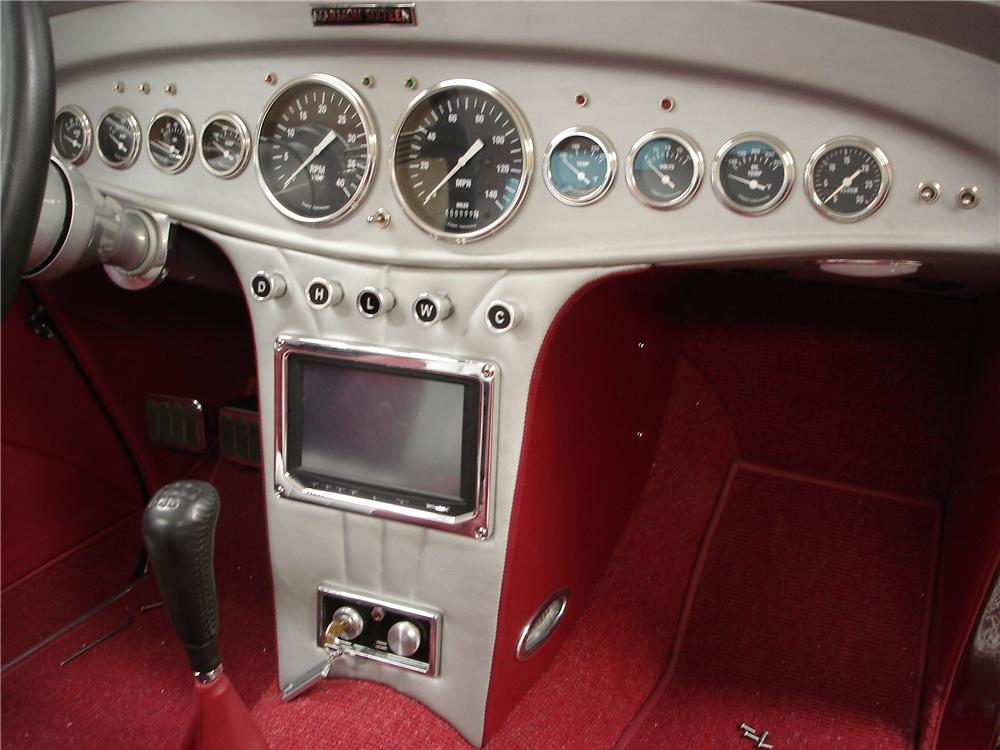 1934 FORD CUSTOM ROADSTER - Interior - 116511