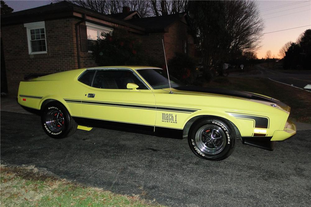 1973 ford mustang mach 1 fastback 116517. Black Bedroom Furniture Sets. Home Design Ideas