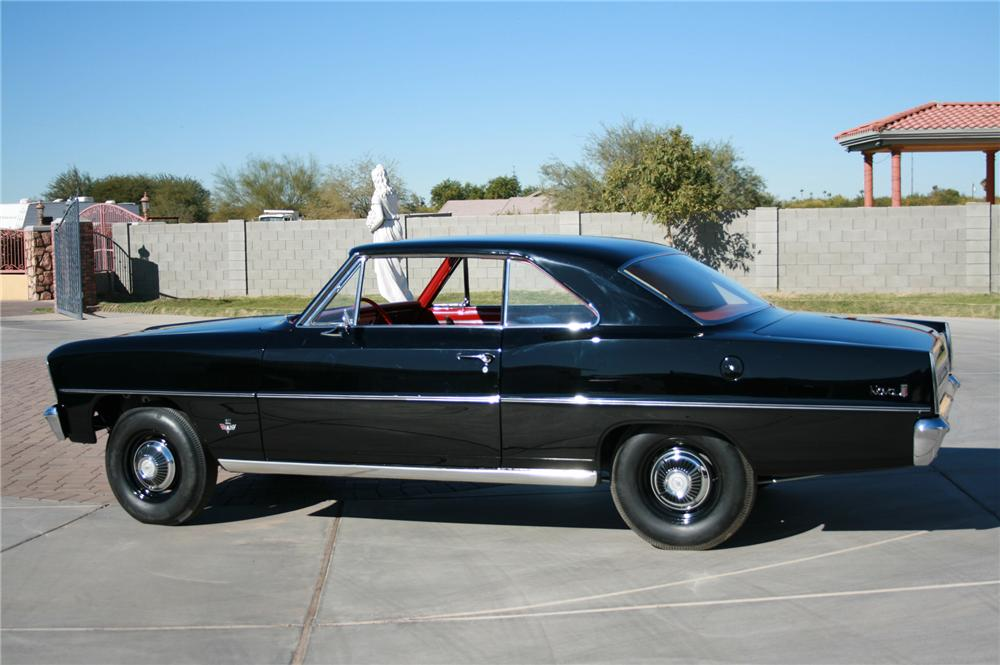 1966 CHEVROLET NOVA 2 DOOR COUPE - Front 3/4 - 116518