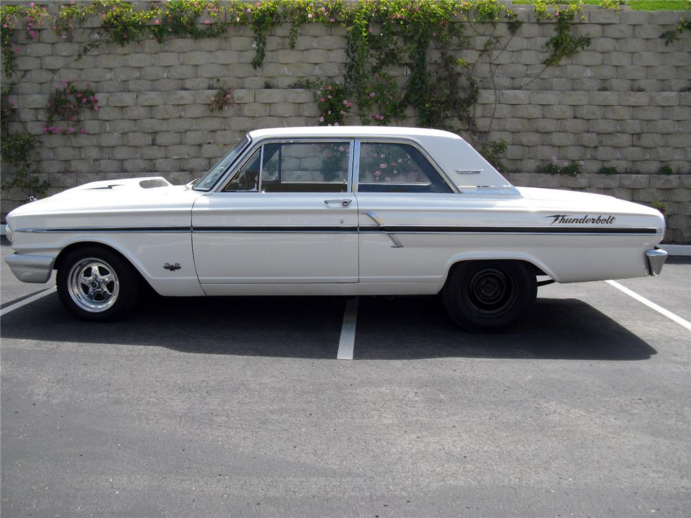 1964 FORD THUNDERBOLT RE-CREATION - Side Profile - 116521