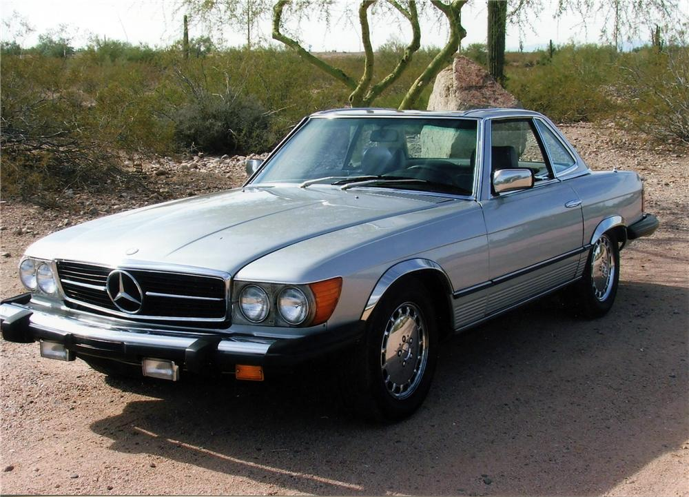 1981 mercedes benz 380sl roadster 116522