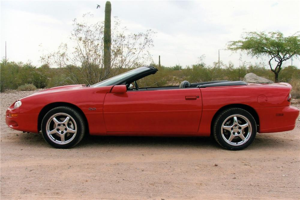 2002 CHEVROLET CAMARO SS 35TH ANNIVERSARY CONVERTIBLE - Side Profile - 116524