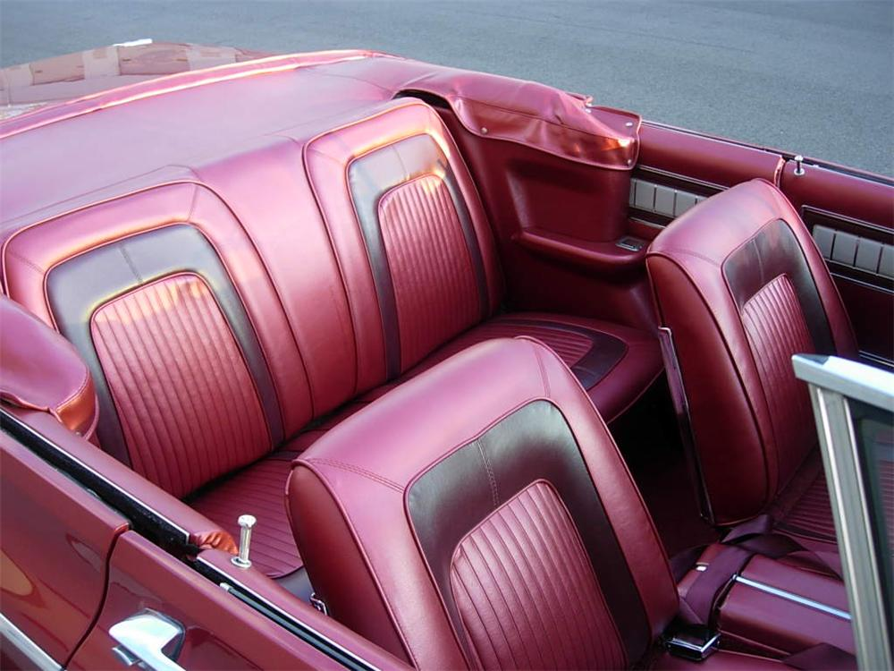 1965 DODGE CORONET CONVERTIBLE - Interior - 116525