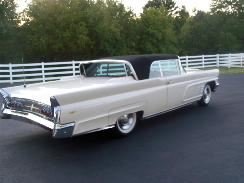 1960 Lincoln Continental Convertible 116527