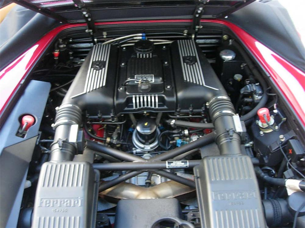 1995 FERRARI F-355 SPIDER - Engine - 116528