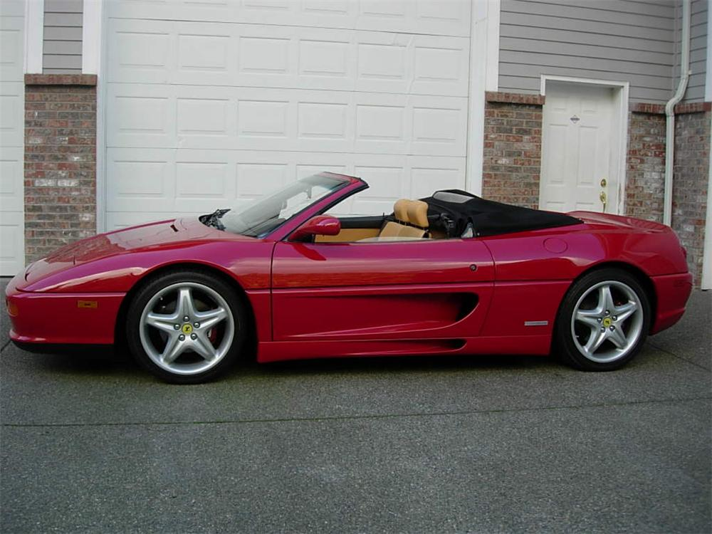 1995 FERRARI F-355 SPIDER - Side Profile - 116528