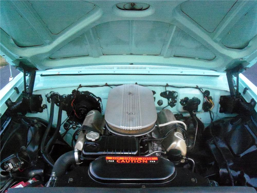 1961 FORD GALAXIE CONVERTIBLE - Engine - 116529