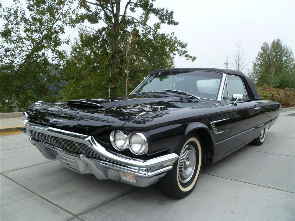 1965 FORD THUNDERBIRD CONVERTIBLE - Front 3/4 - 116530