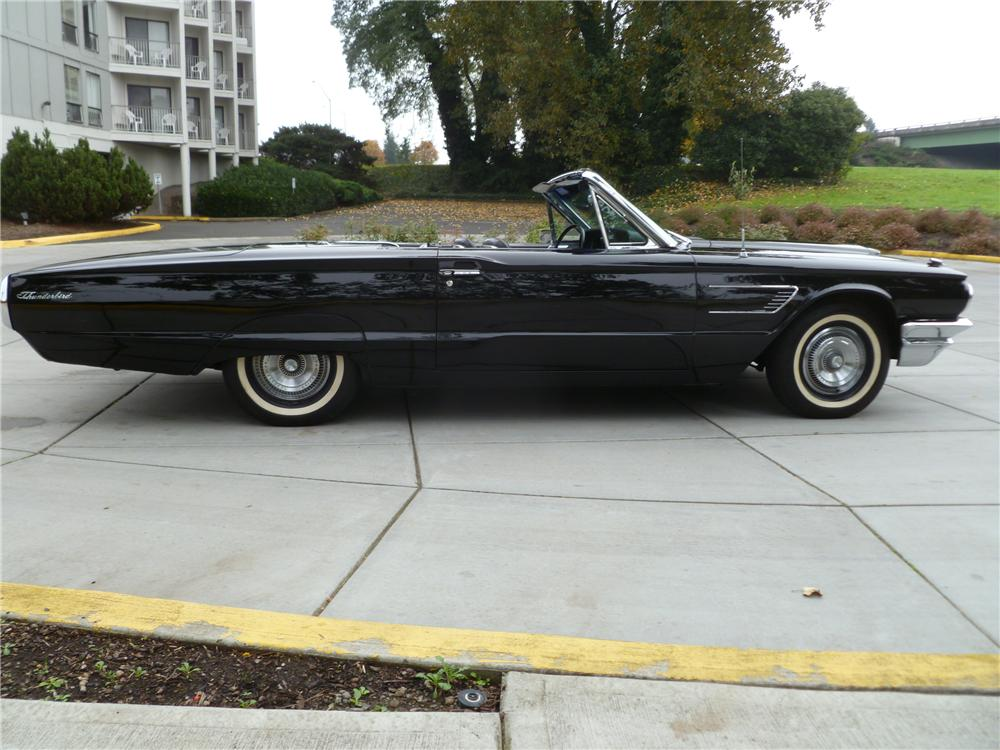 1965 FORD THUNDERBIRD CONVERTIBLE - Side Profile - 116530