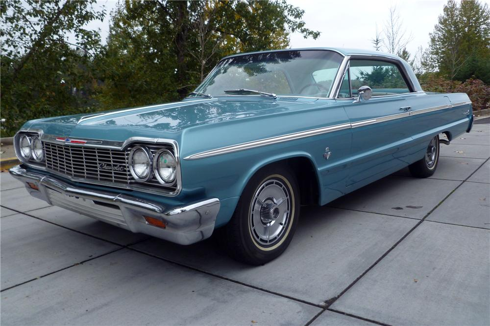 1964 CHEVROLET IMPALA SS COUPE - Front 3/4 - 116532
