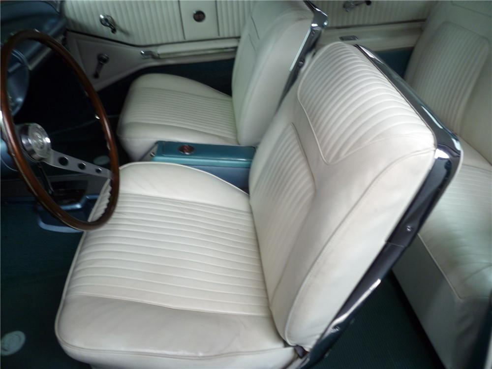 1964 CHEVROLET IMPALA SS COUPE - Interior - 116532