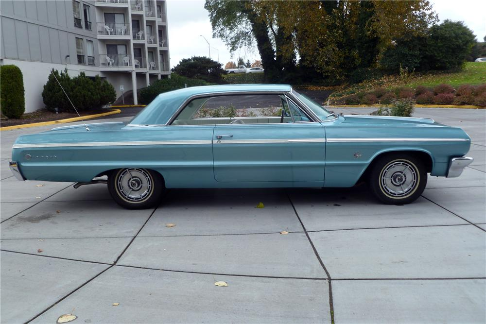 1964 CHEVROLET IMPALA SS COUPE - Side Profile - 116532