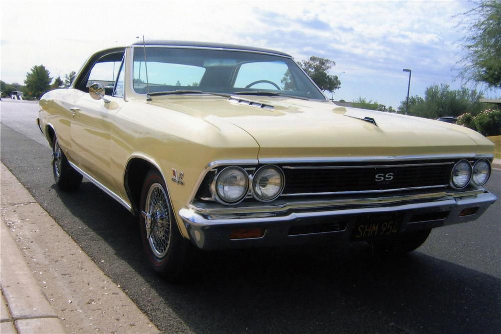 1966 CHEVROLET CHEVELLE SS 396 2 DOOR COUPE - Front 3/4 - 116759