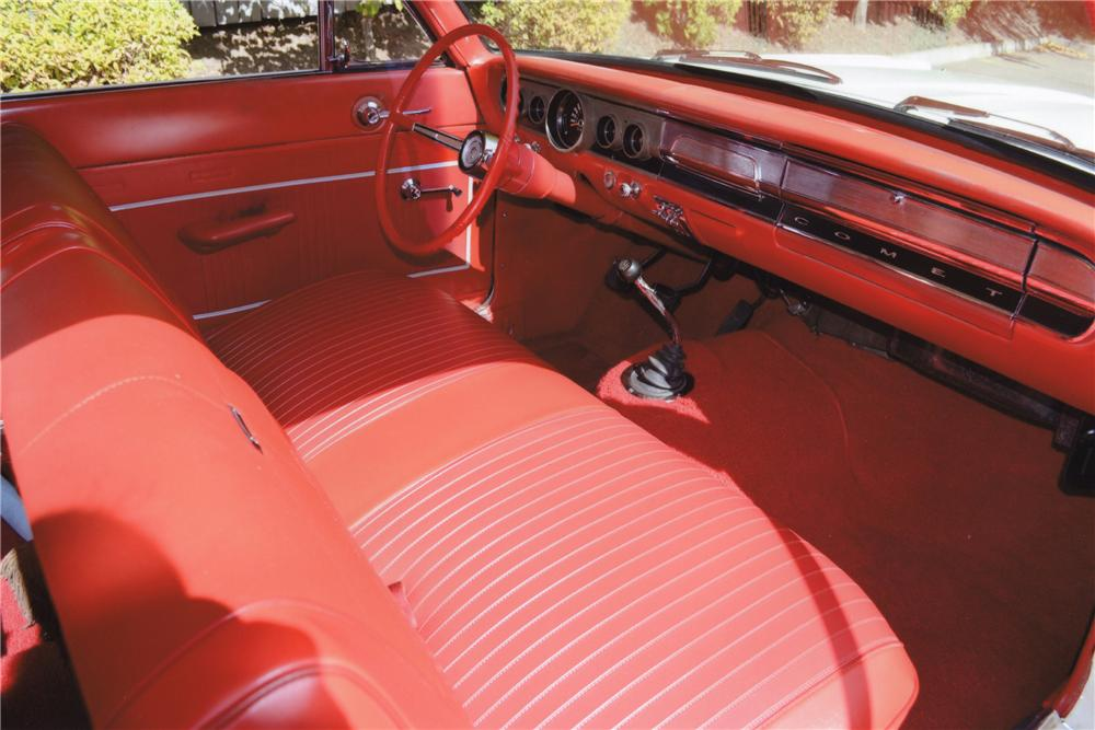 1965 MERCURY COMET CUSTOM 2 DOOR SEDAN - Interior - 116797