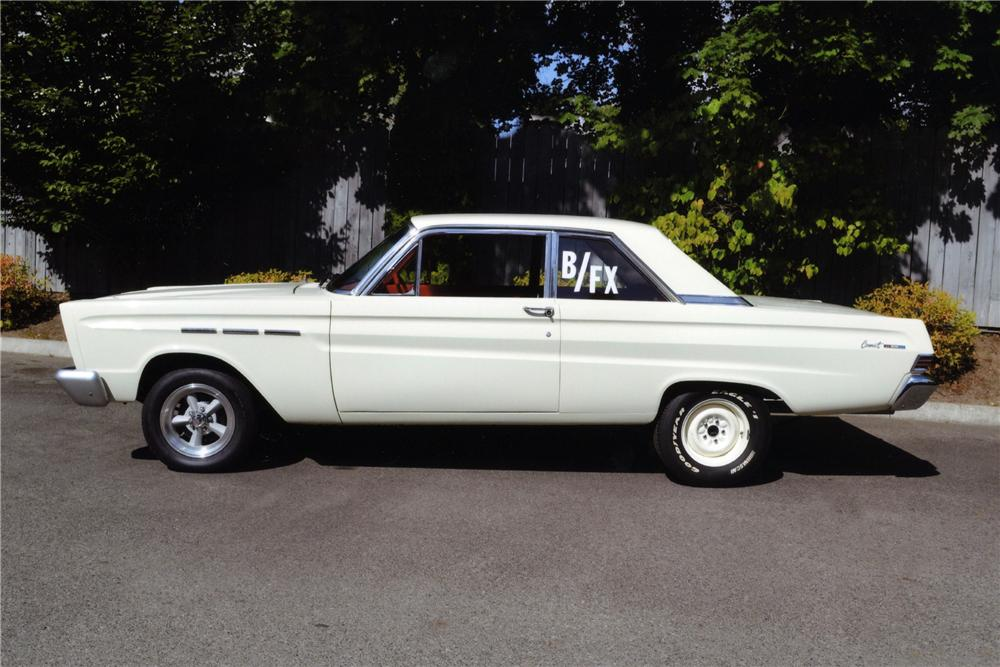 1965 MERCURY COMET CUSTOM 2 DOOR SEDAN - Side Profile - 116797