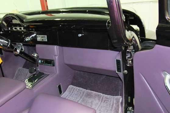 1956 FORD F-100 CUSTOM PICKUP - Interior - 116804