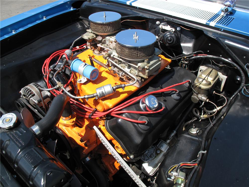 1968 PLYMOUTH BARRACUDA SUPER STOCK - Engine - 116812