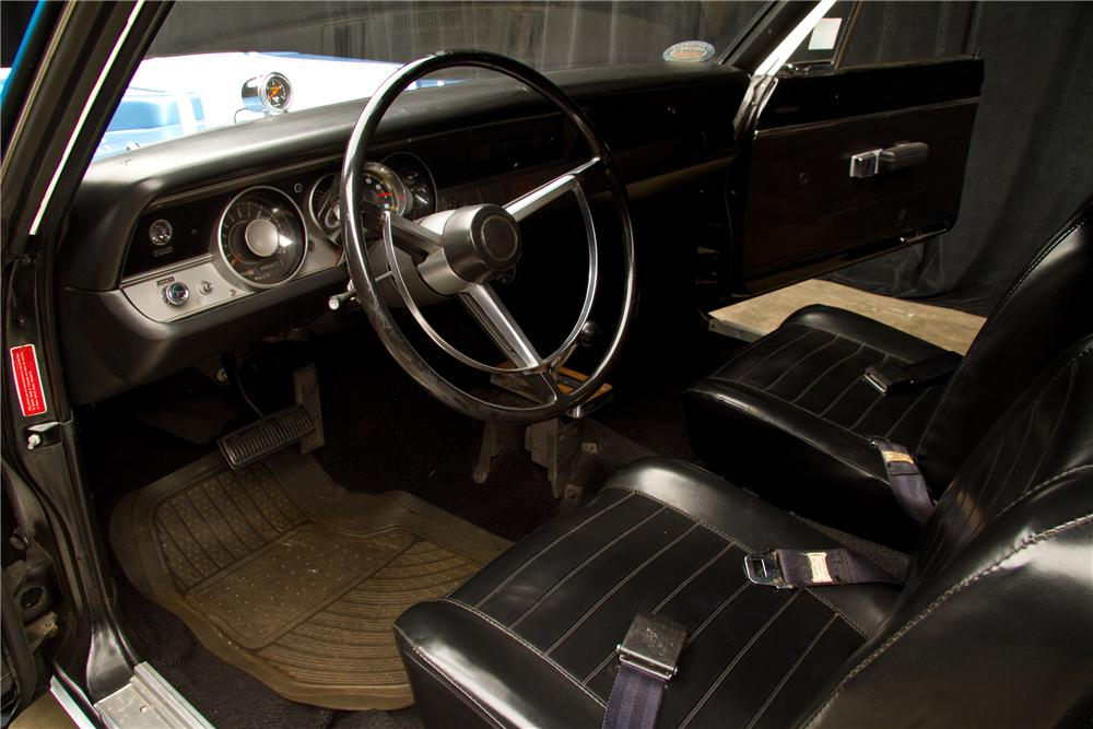 1968 PLYMOUTH BARRACUDA SUPER STOCK - Interior - 116812