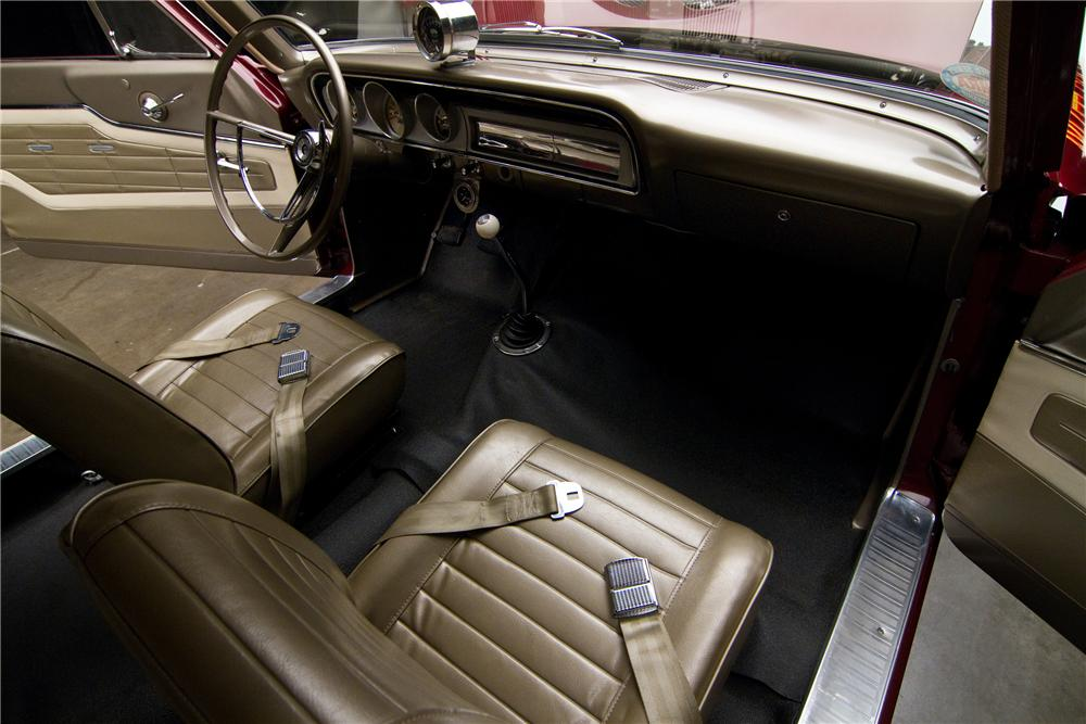 1964 FORD THUNDERBOLT 2 DOOR - Interior - 116813