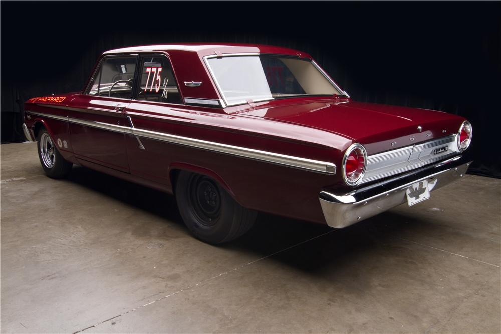 1964 FORD THUNDERBOLT 2 DOOR - Rear 3/4 - 116813